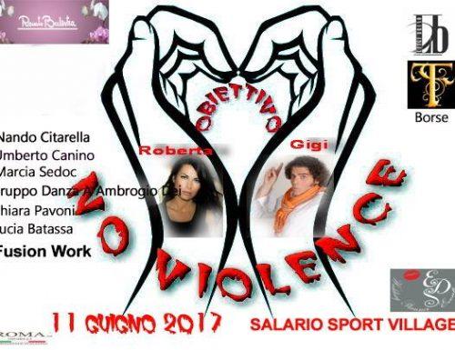 """""""No violence"""" a Salario Sport Village"""