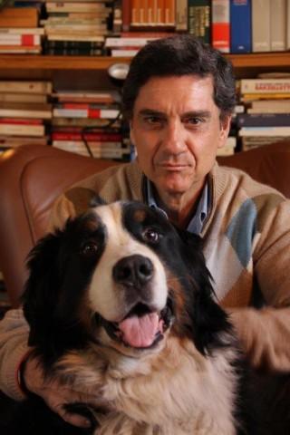 Marco Tullio Barboni con Merlino