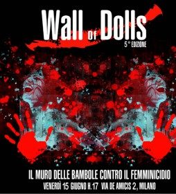 A Milano Wall of Dolls