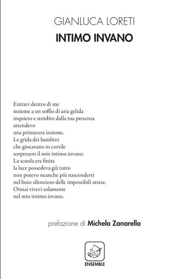 """""""Intimo Invano"""", la presentazione del libro alla Libreria Teatro Tlon"""