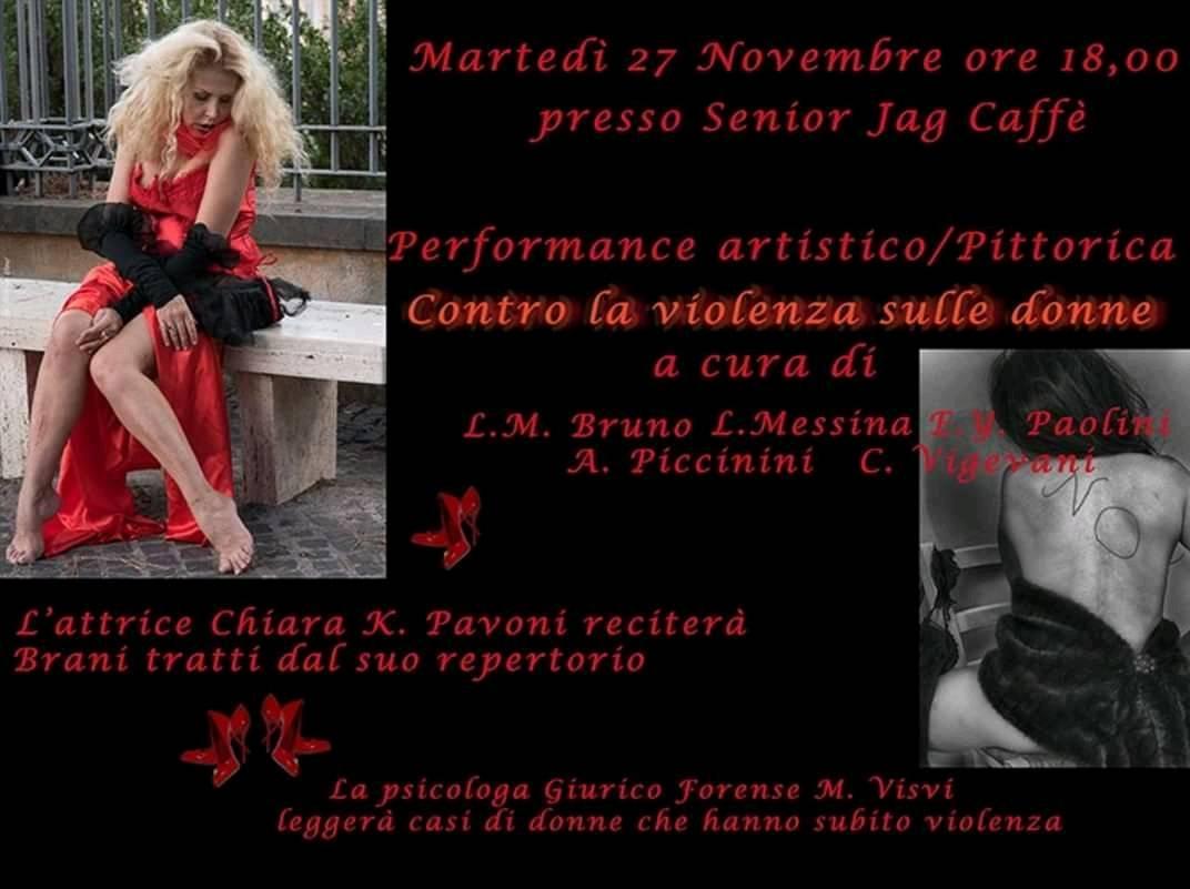 Al Senior Jag Cafè un evento contro la violenza sulle donne
