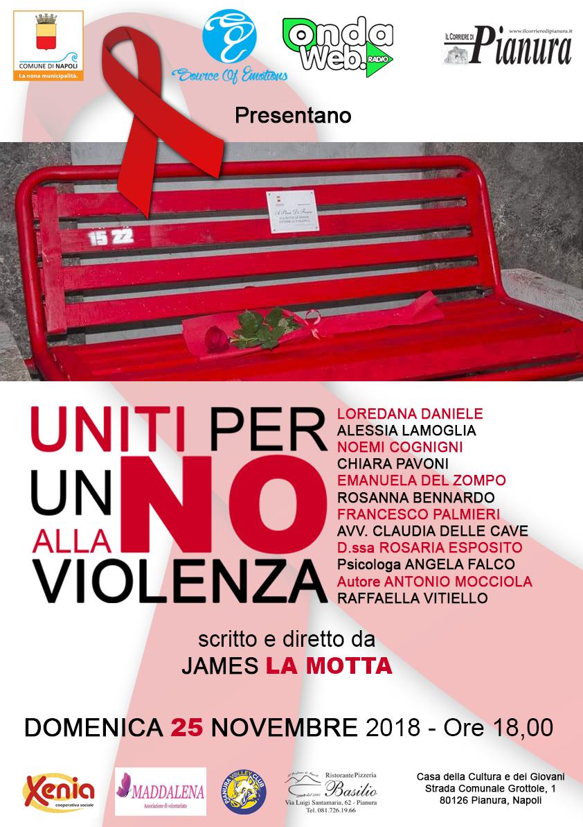 """Alla Casa della Cultura di Pianura """"Uniti per un No alla Violenza"""""""