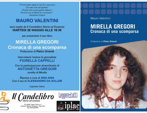 Al Candelibro 'Mirella Gregori. Cronaca di una scomparsa'
