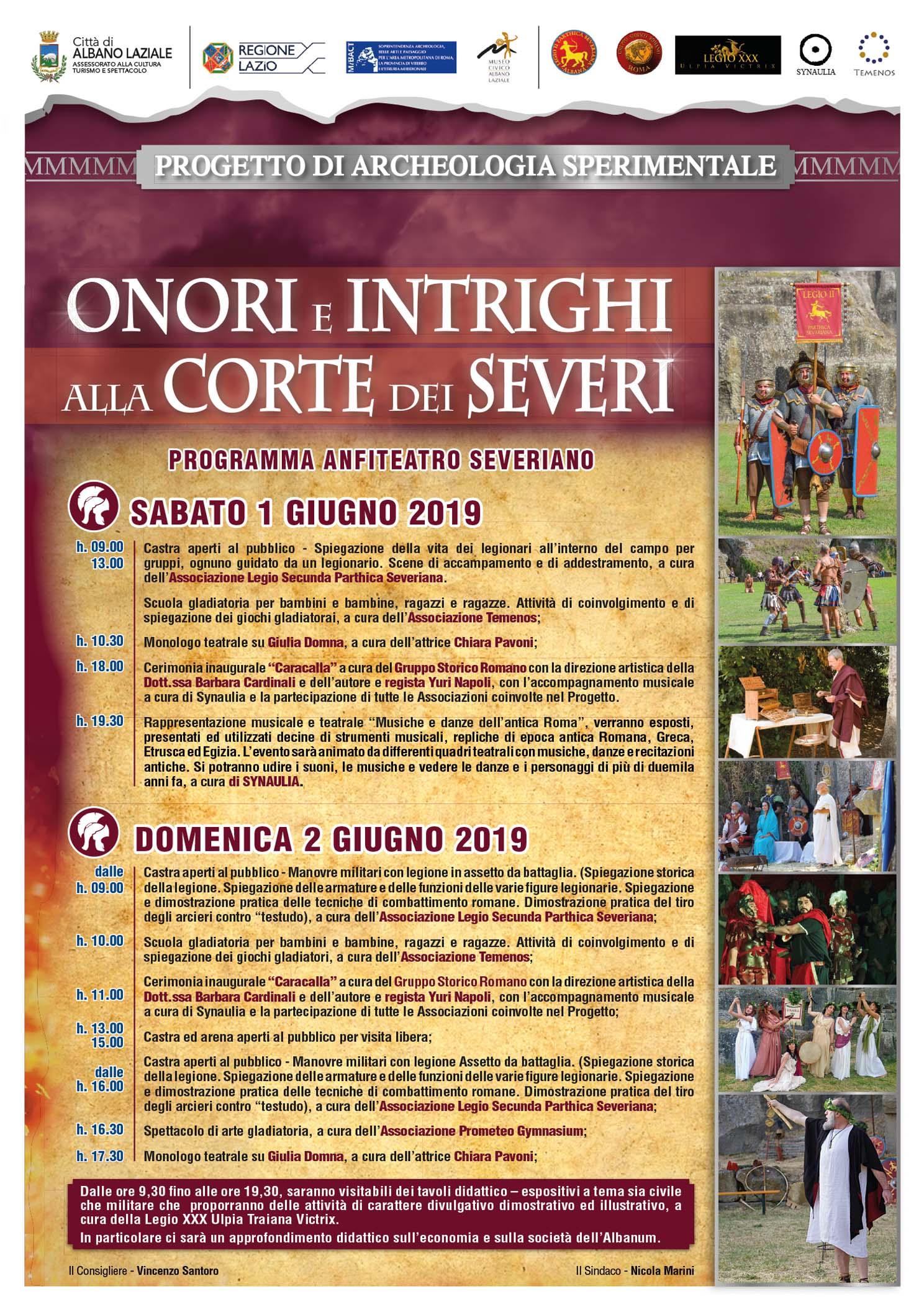 """Chiara Pavoni a """"Onori e intrighi alla Corte dei Severi"""""""