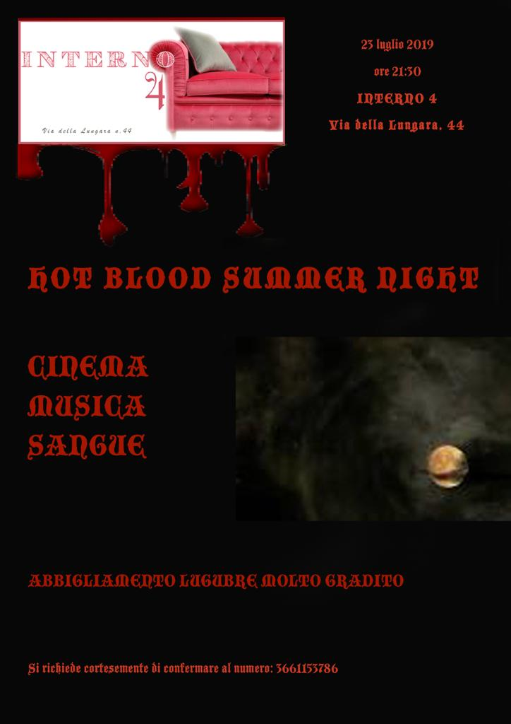 """Hot Blood Summer Night"" all'Interno 4 di Chiara Pavoni"
