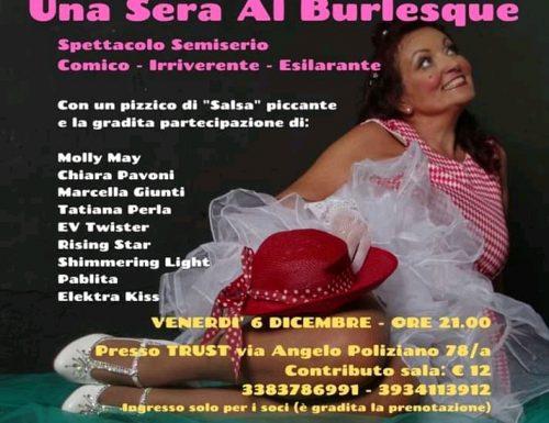 Una sera al Burlesque al Trust di Roma