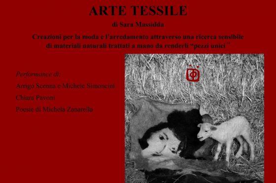 L'arte tessile di Sara Massidda ad Interno 4