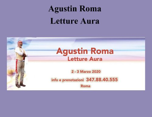 Agustin Roma e le Letture Aura ad Interno 4