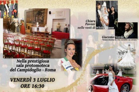 Una sfilata in Campidoglio con l'Associazione Moda & Spettacolo Stileventi