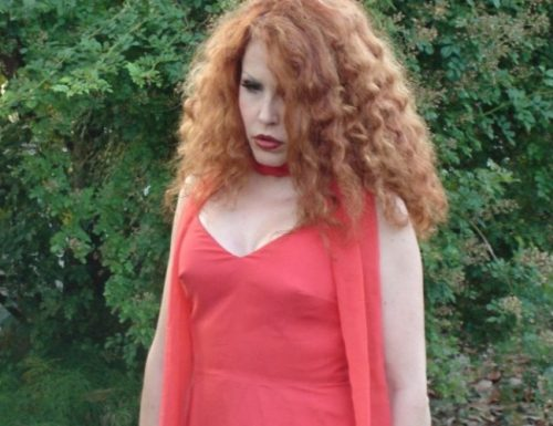 Chiara Pavoni legge le poesie di Angela Tiberi al Mitreo